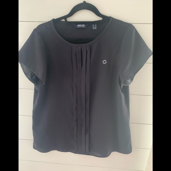Chase blue blouse
